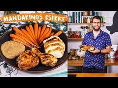 A mandarinos húsételek kategóriája minden receptkönyvben üres: íme egy ünnepi verzió, amit a csirke és két szuper köret tesz karácsonyivá. Minden, Muffin, Meat, Cooking, Breakfast, Ethnic Recipes, Kitchen, Food, Youtube