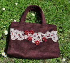 bordó kabelka purse