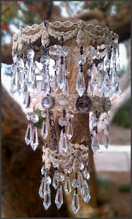 Create this Chandelier yourself!!  Swoon with Deb Hodge™ Artist Club