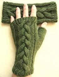 guantes tejidos dos agujas - Buscar con Google