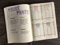 Meine Monatsübersicht September habe ich ganz besonders gestaltet, und zwar im Harry Potter Design! Hier stelle ich dir meine Monatsseiten vor.