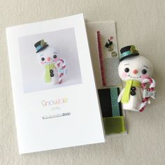 Jocky - Snowbie Pattern Kit by Gingermelon on Etsy