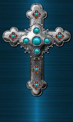 CROSS Cross Love, Holy Cross, Cross Wallpaper, Wallpaper Ideas, Moving Wallpapers, Iphone Wallpapers, Diamond Background, Gothic Crosses, Christian Images