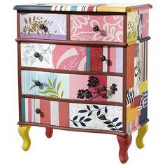 Dresser Patchwork design