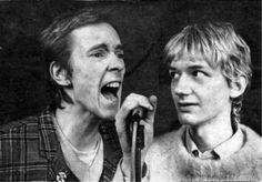 Public Image Limited: John Lydon and Keith Levene, 1979.