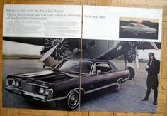 1968 Mercury Park Lane-Airplane Engines-Original 2 Page * Magazine Ad Car Maintenance Costs, Scorpio Car, Edsel Ford, Chevrolet Cavalier, Ford Classic Cars, Magazine Ads, Ford Motor Company, Vintage Ads, Problem Solving