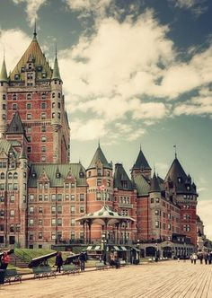 chateau+frontenac,+Quebec,+Canada