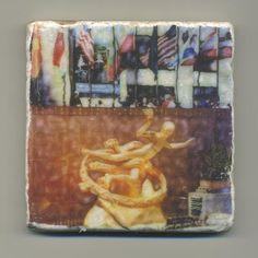 Rockefeller Center Original Coaster by re4mado on Etsy, $14.99