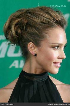 Jessica Alba Hair at Mtv Movie Awards 2006