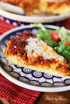 The best spaghetti pie recipe #recipe