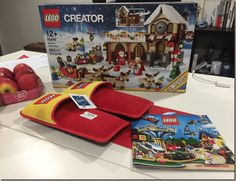 Lego cria pantufas para proteger os pés. -  WestinMorg / Blog de Moda Masculina e Variedades