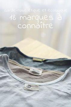 18 marques de vêtements écologiques et éthiques pour une garde-robe capsule du tonnerre !