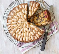 Dundee cake recipe--A famous traditional Scottish fruitcake with cherries, sultanas and almonds, and a sweet glaze. Dundee Cake Recipe, Bbc Good Food Recipes, Cooking Recipes, Kitchen Recipes, Easy Cooking, Scottish Recipes, Eat Cake, Cake Recipes, Food And Drink