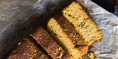 Paleo Sweet Potato Bread from Sarah Wilson I Quit Sugar Sugar Free Recipes, Almond Recipes, Baking Recipes, Whole Food Recipes, Bread Recipes, Potato Recipes, Paleo Recipes, Sweet Potato Bread, Paleo Sweet Potato