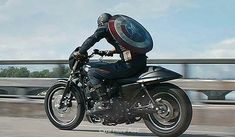 Captain America on an XG750