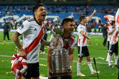 Gonzalo Martinez of River Plate and Enzo Perez of River Plate. Sports Images, Carp, Camila, Madrid, Two By Two, Plates, History, Celebrities, Mariana