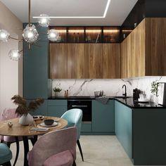 Home Decor Inspiration .Home Decor Inspiration Kitchen Ikea, Small Apartment Kitchen, Kitchen Room Design, Kitchen Cabinet Design, Modern Kitchen Design, Home Decor Kitchen, Kitchen Living, Interior Design Kitchen, Kitchen Furniture