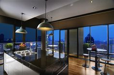 St Mary Penthouse kitchen and dining ideas