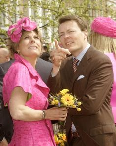 Princess Laurentien And Prince Constantijn Of The Netherlands Princess Laurentien and Prince Constantijn of the Netherlands pose for a photo on Queen's Day on April 2008 in Franeker, The Netherlands. Royal Wedding Prince Harry, Dutch Netherlands, Royal Families Of Europe, Dutch Royalty, Three Daughters, Photo Galleries, Victoria, Baltimore, Royals