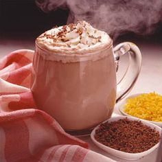 Rich 'n Creamy Hot Chocolate Recipe from Land O'Lakes