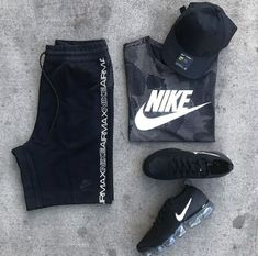 Good Evening Kingdom of or - Style bestpin Swag Outfits Men, Sporty Outfits, Nike Outfits, Athletic Outfits, Workout Outfits, Athletic Wear, Tomboy Fashion, Mens Fashion, Fashion Outfits