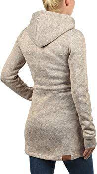 Damen Hoodies Mit Kapuze  Winter Warm Mantel Jacke Langarm Oberbekleidung Outfit