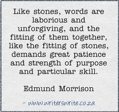 Quotable - Edmund Morrison
