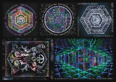 Neil Gibson sticker collection 5 different  by PiNeilCreations