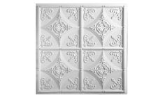 Cathedral Ceiling Tile - White    these r the ones I reeeally want !