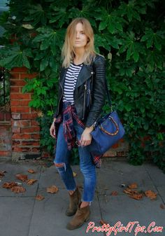 @prettygirltips Ripped Jeans and Boots