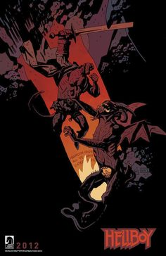 Hellboy in Hell (Mignola, off course)