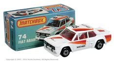 Matchbox Superfast 74 Fiat Abarth Rally