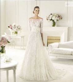2014 New Style Impressive Flower Lace Crystal Bride Wedding Gown Veil