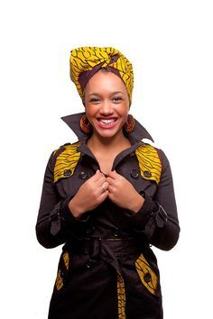 wax jacket selected by African pulse African Dresses For Women, African Fashion Dresses, African Outfits, African Inspired Fashion, Africa Fashion, Fashion Fabric, Fashion Prints, Afro Chic, African Textiles