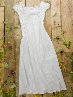Amandine Ladies Nightie White
