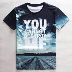 Slimming Round Neck 3D Sky Letter Print Short Sleeve Men's Graphic T-Shirt || http://www.thefunstuffshop.com/product/slimming-round-neck-3d-sky-letter-print-short-sleeve-mens-graphic-t-shirt/ || #thefunstuffshop #metrofashion #sassy #standout #metromakati #femmefatale #fashionstatement #shopping #onlineshop #onlineshopping #hotdeals #clothing #forMen