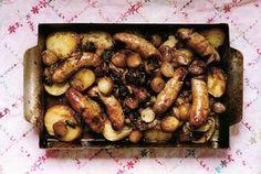 Ravinder Bhogal's Hot Sausage Roast