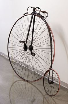 High Wheel Bicycle Used by Champion Cyclist Cola E. Stone, 1879.