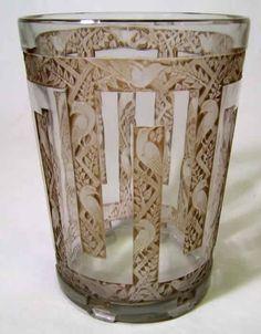 Lalique Vase Grimpereaux, c.1926