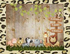 50 Jungle Theme Birthday, Safari Birthday Party, Jungle Party, Safari Theme, Jungle Safari, Baby Birthday, Safari Invitations, Safari Cakes, Safari Decorations