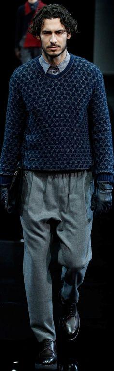Giorgio Armani  Menswear  Fall-Winter