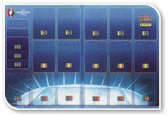 Adrenalyn XL UEFA Euro 2016, França - Game Board