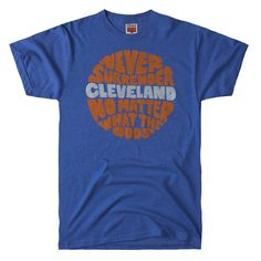 HOMAGE Cleveland Cavaliers Never Surrender NBA T-Shirt - $28.00