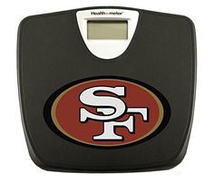 New Black Digital Bathroom Weight Scale featuring San Francisco 49ers NFL Team Logo *** Be sure to check out this awesome product.