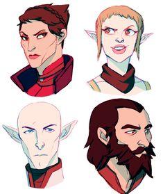 Коул,DA персонажи,Dragon Age,фэндомы,Дориан павус,Железный бык,Солас,Блэкволл,Сэра (DA),Кассандра Пентагаст,DAI