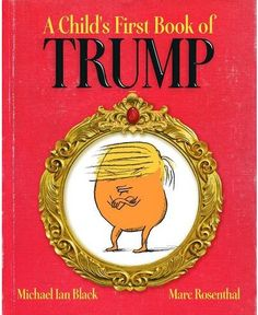 Where do babies come from? Are we there yet? What should I make of the Donald Trump phenomenon? Jewish comedian Michael Ian Black tackles the Trump question in his forthcoming children's book, 'A Child's First Book of Trump.'