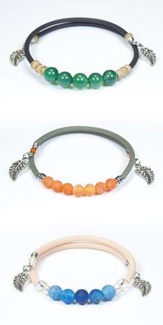 Bracelets & Bangles Jewelry & Accessories Ingenious Boho Vintage Bracelet Flower Ceramic Beads Double Bracelets Natural Stone Handmade Accessories Bronze Bangles Gift Jewelry Agreeable Sweetness