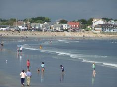 York Beach, Maine I grew up on this beach my parents are currently here right now... Miss it so much.