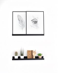 Posters and plants./ www.peopleoftomorrow.no // instagram: peopleoftomorrow_