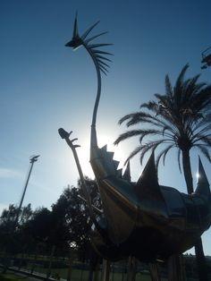 Gran Canaria Infoseite Canario, Outdoor Furniture, Outdoor Decor, Hammock, Statue Of Liberty, Travel, Home Decor, Island, Shopping